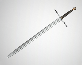 Sword sword warrior 3D