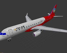 Embraer ERJ-175 3D asset