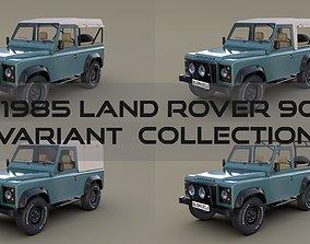 1985 Land Rover Defender 90 Pack 3D model