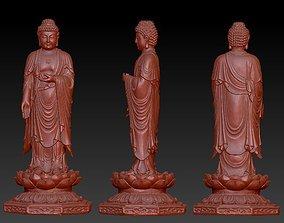 Buddha statue pendant 3D print model human