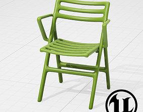 3D asset realtime Magis Folding Air-Chair UE4