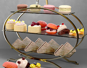 Desserts and sweets 3D