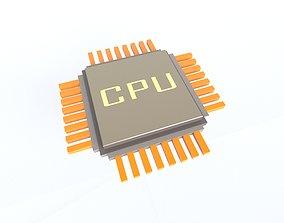 CPU v1 001 3D model