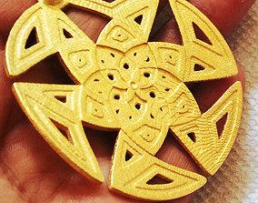 3D print model Islamic Pattern Pendant