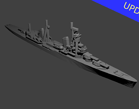 Soviet Kirov Class Cruiser Warship 3D print model