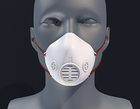 Face mask 3D Printable Model
