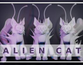 3D print model Alien Cat Young