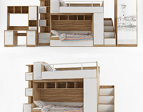 Children furniture collection London 3D
