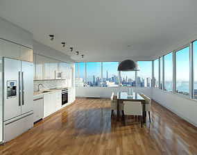 Photorealistic Kitchen 3D model