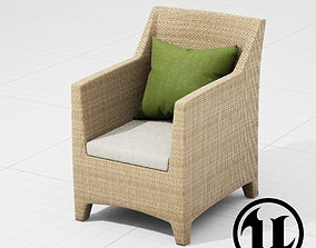Dedon Barcelona Chair UE4 3D model