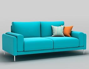 Link Sofa 3 Seat 3D model