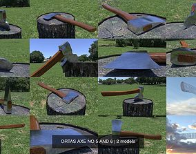ORTAS AXE NO 5 AND 6 3D
