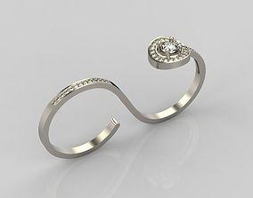 Diamond ring design 5 3D print model