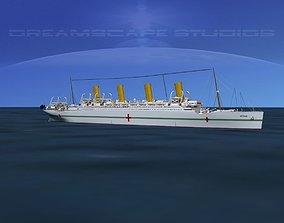 HMHS Britannic 3D model