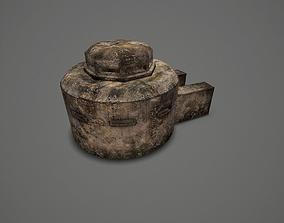 WW II OldBunker 3D model