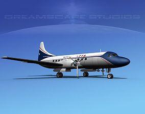 Convair CV-340 3D
