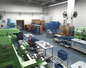 Factory Workshop 3D
