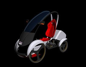 Car Quadrocycle 3D