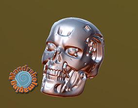 3D printable model Terminator Skull