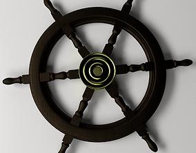 3D model Ships Steering Wheel 2