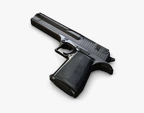 3D model Magnum Gun