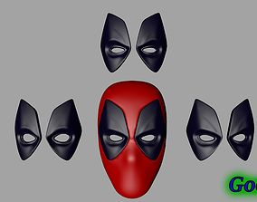 3D printable model Deadpool Mask