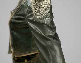 Shiny Black Outfit 3D model