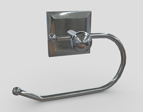 Toilet Roll Holder 2 3D model