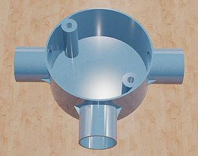 Threeway Tee Conduit Box-20mm 3D printable model