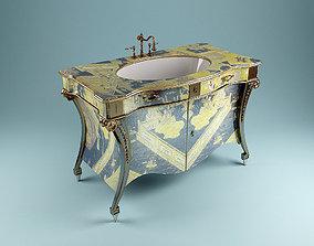 3D Artdeco Washstand