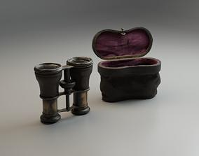 Old binoculars 3D asset