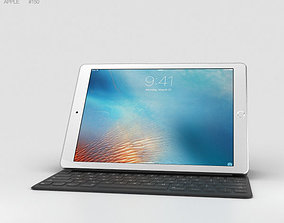 Apple iPad Pro 9-7-inch Silver 3D
