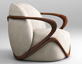 expensive 3D Giorgetti Hug armchair