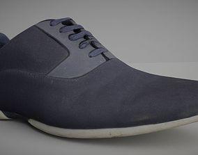 Shoe Low Poly Model 3D asset