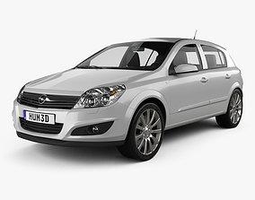 Opel Astra hatchback 2007 3D