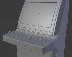 Sega Astro City arcade cabinet 3D printable model