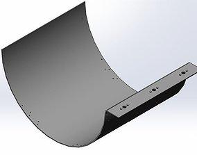 3D model Funel slit body