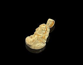 3D printable model topaz Pendant 001