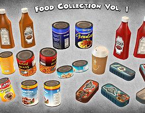 Food Collection Vol 1 3D asset