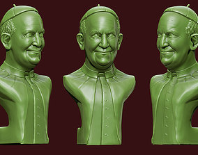 miniatures Pope Francis 3D print model