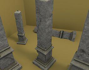 3D model Celtic Obelisk