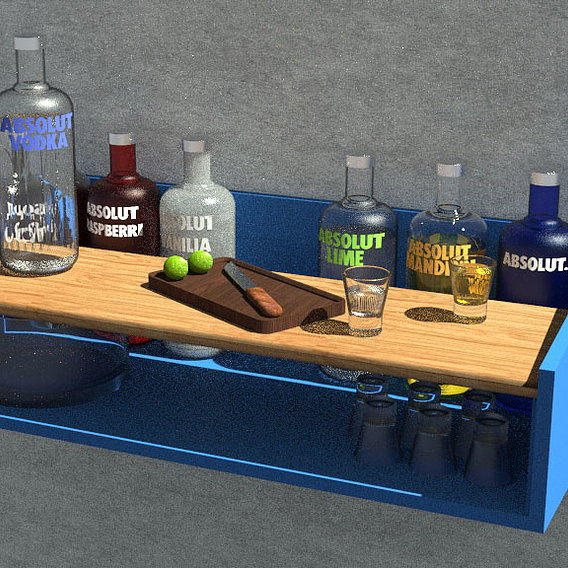 Absolut every vodka!