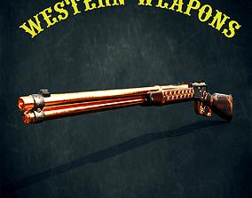3D asset Winchester model 1892