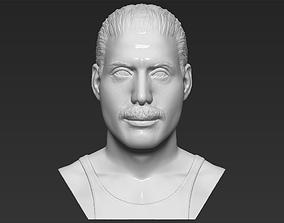 Freddie Mercury bust 3D printing ready stl obj