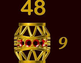 Para ball jewelery gold printable plain studded 48