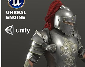 Special Knight 3D model rigged