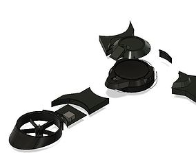 Tri rotor 3D printable model
