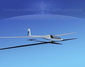 Glaser Dirks DG-200 17-metre Sailplane 3D