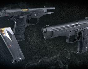 Beretta 92F 3D model