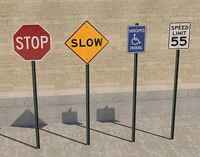 Street Signs Basic 3D